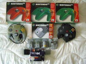 Ensemble d'accessoires Nintendo 64
