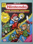 Album stickers magiques Nintendo