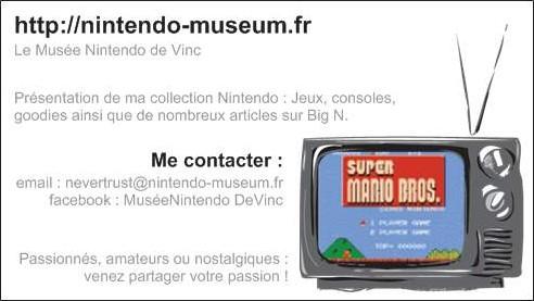 Cartes De Visite Nintendo Museumfr