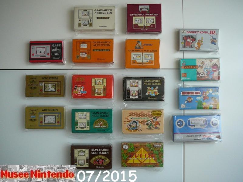 La collec' de Nevertrust Collection-GameWatch