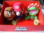 Collection Peluches New Super Mario Bros