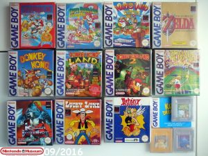 Collection software Game Boy