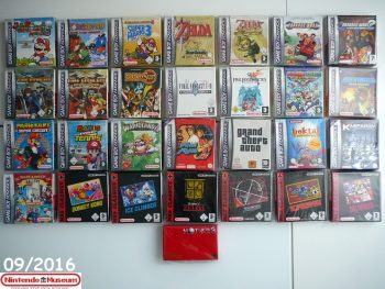 Collection software Game Boy Advance
