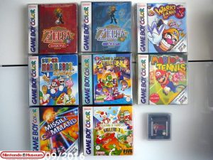 Collection software Game Boy Color