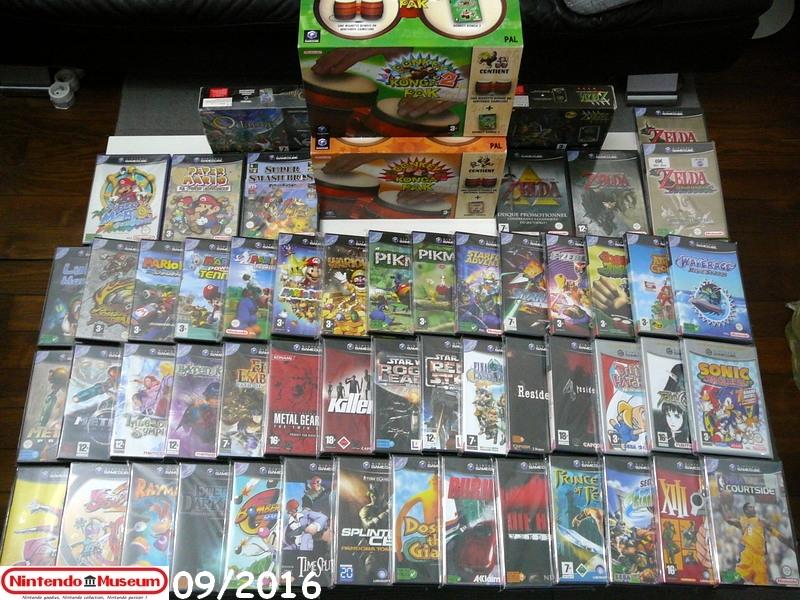 La collec' de Nevertrust Collection-software-GameCube