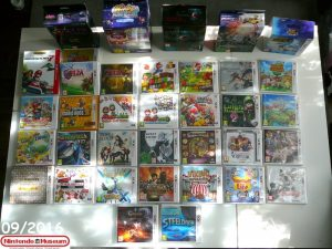Collection software Nintendo 3DS