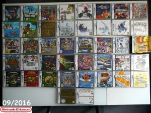 Collection software Nintendo DS