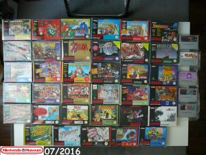 Collection-software-SNES