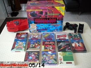 Collection software Virtual Boy