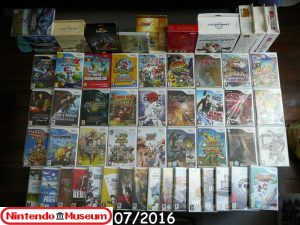 Collection software Wii