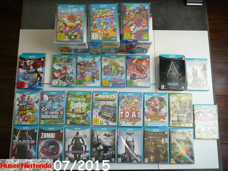 La collec' de Nevertrust Collection-software-Wii-U