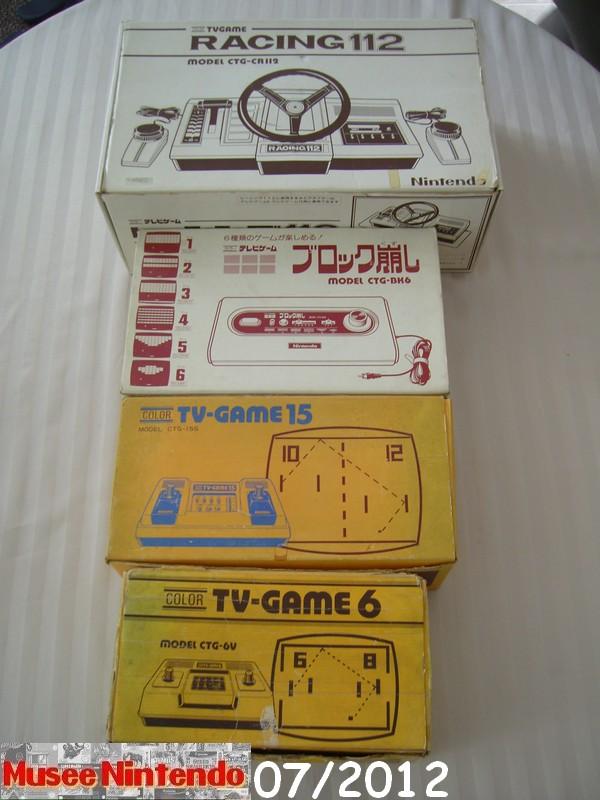 La collec' de Nevertrust Color-TV-Game