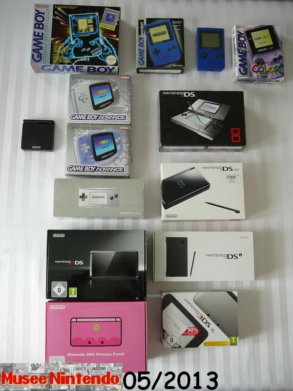 La collec' de Nevertrust Consoles-portables