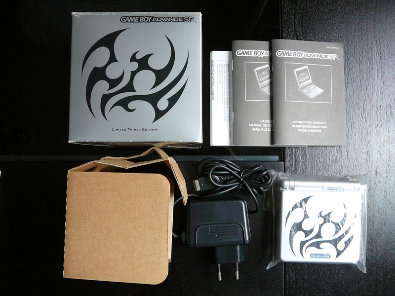 Game Boy Advance SP Limted Edition Tribal