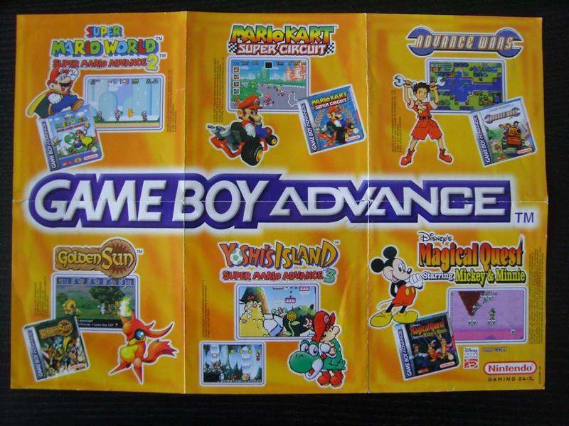 Publicité Game Boy Advance