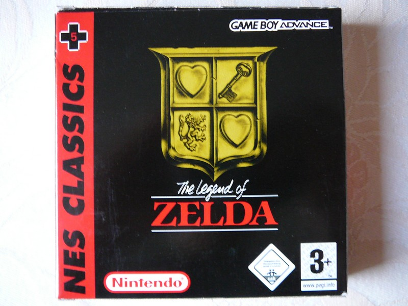 The Legend Of Zelda NES CLASSICS