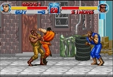 Final Fight One in-game
