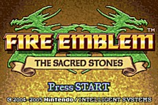 Fire Emblem : The Sacred Stones in-game
