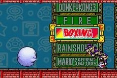 Game & Watch Gallery Advance in-game
