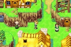 Golden Sun in-game