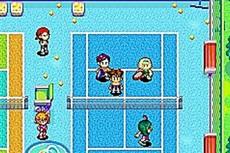 Mario Power Tennis in-game