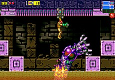 Metroid : Zero Mission in-game