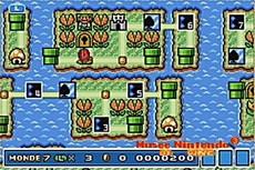 Super Mario Advance 4 : Super Mario Bros 3 in-game