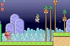 Super Mario Advance in-game