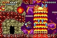 Wario Land 4 in-game