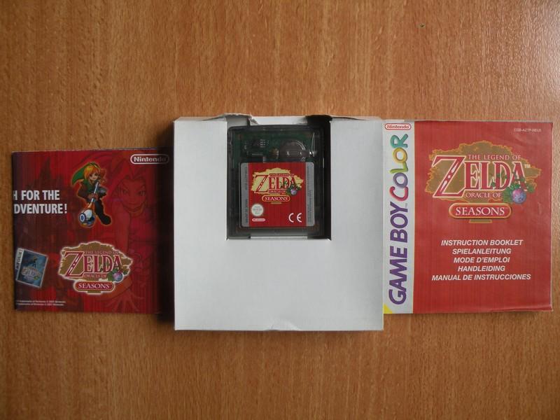 The Legend Of Zelda : Oracle Of Seasons