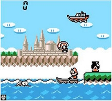 Game & Watch Gallery 3 in-game