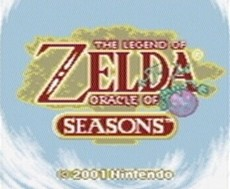 The Legend Of Zelda : Oracle Of Seasons in-game