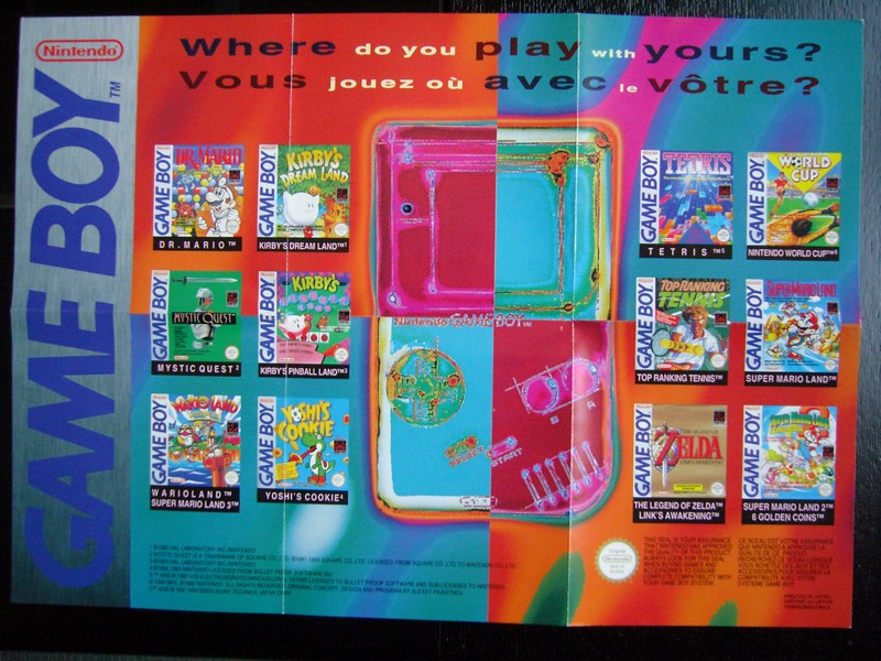 Publicité Game Boy