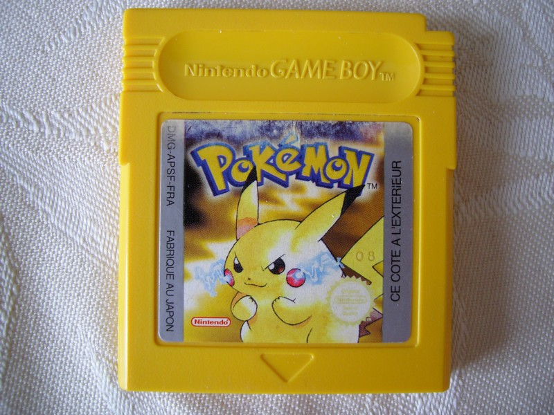 Pokemon version Jaune
