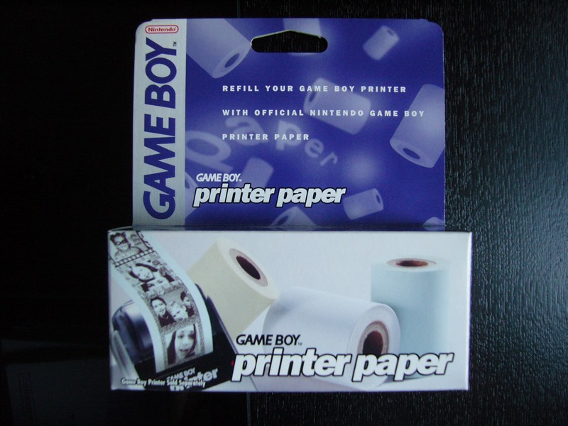 Rouleau de papier Game Boy Printer