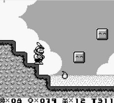 Super Mario Land 2 in-game