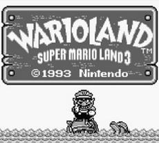 Super Mario Land 3 : Wario Land in-game