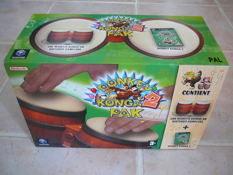 Carton Donkey Konga 2 Pak