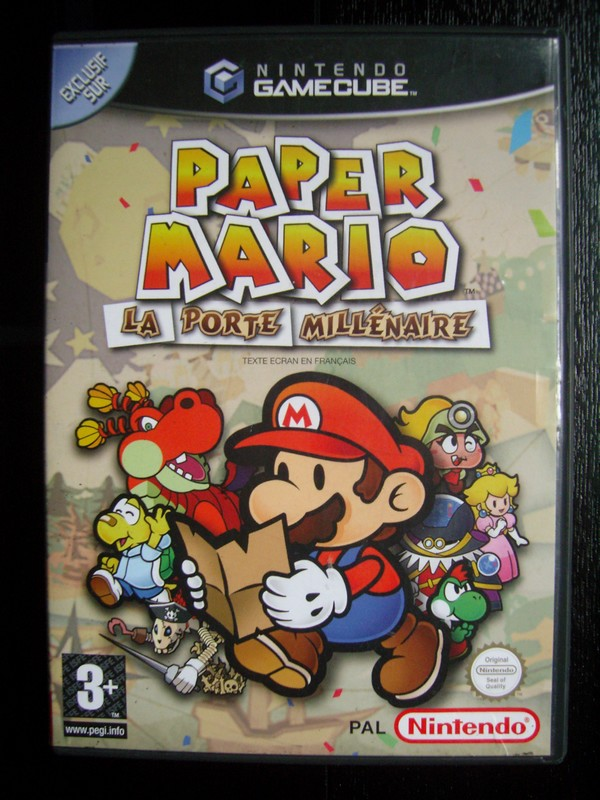Paper mario la porte mill naire gamecube nintendo museum - Telecharger paper mario la porte millenaire ...
