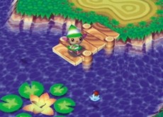 Animal Crossing in-game
