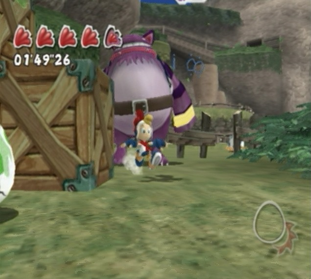 Billy Hatcher And The Giant Egg in-game