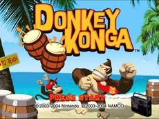 Donkey Konga in-game