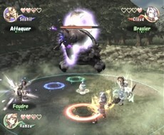 Final Fantasy Crystal Chronicles in-game