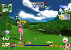 Mario Golf : Toadstool Tour in-game