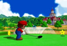 Mario Golf : Toadstool Tour in-game