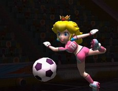 Mario Smash Football in-game
