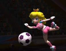 Mario Smash Football in-game