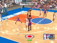 NBA Courtside 2002 in-game