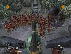 Odama in-game