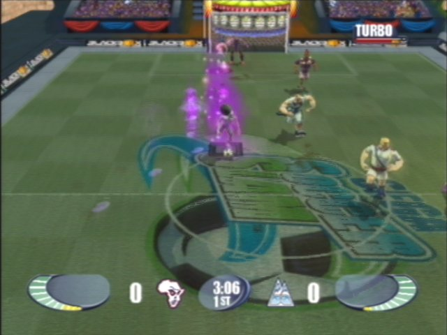 Sega Soccer Slam in-game